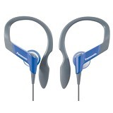 PANASONIC Lightweight Shockwave Sport Clip Earphones [RP-HS33E-V] - Violet - Earphone Ear Bud